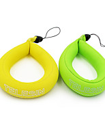 TELESIN Floating Strap 2-pack for  Action Cameras, Waterproof Camera Float Wrist Strap for  Diving, Sea Fishing or Other