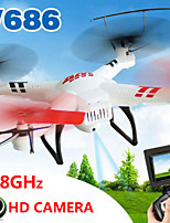 WLtoys V686G Drone 4CH 5.8G RC Drone Quadcopter RTF With Built-In Camera, Real-Time Transmission, Headless Mode