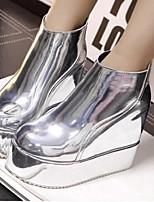 Chaussures Femme - Décontracté - Argent / Or - Plateforme - Bout Fermé - Bottes - Paillette