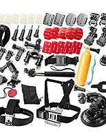 39-in-1 Ultimate Combo Accessories Kit for GoPro Hero 4s 4 3+ 3 2 1 Black Silver