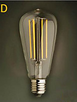 ST64LED 4 w 2300K Warm Yellow  Energy-Saving Light Bulbs To Save Powe
