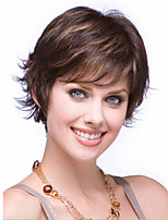 Top Quality Fashion Short Curly Wavy Wig Mix Color Woman's Synthetic Wigs Hair