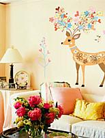 Animals / Fashion Wall Stickers Plane Wall Stickers , PVC 90cm*60cm