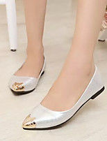 Women's Shoes Flat Heel Comfort / Pointed Toe Flats Casual Black / Silver / Gold