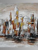 Paesaggio / Architettura Print Canvas Un pannello Pronto da appendere , Quadrato