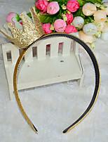Golden crown headbands Girls headband headdress Baby accessories Golden