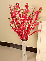 Silk / Plastic Plum Artificial Flowers