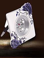 Spot LED Décorative Blanc Chaud / Blanc Froid Mizhichen 1 pièce 9005 3W 3 LED Intégrée 100 LM AC 85-265 V