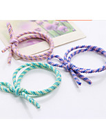 Hair Bow Holders Rope Elastics Rubber Hair Band Tie Hair for Girl Women / Hair Accessories Multi-color 10pcs/lot