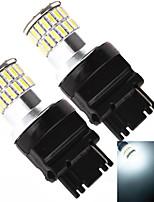 YOBO 3156 3157 48SMD 4014 12W 960LM 6500-7000K  White Light Bulb for Car Brake Lamp (2 PCS/DC 12-24V)