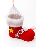Christmas Santa Boots Candy Gift Bag  Christmas Decoration
