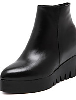 Women's Shoes Flat Heel Comfort Boots Outdoor Black