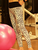 Yoga Pants / Leggings / Tights Breathable / Stretch / Soft Stretchy Sports Wear Yoga / Pilates / Fitness Women's