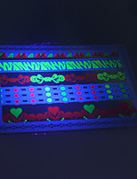10/PCS Hot Sale Fluorescent Tattoo Handsome Multi-Style Temporary Tattoo For Fashion WST-171