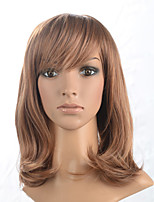2015 Women Ombre Fashion Natural Wavy Janpanese Heat Resistant Synthetic Hair Wig 58045-#6632 22