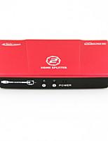 2 port splitter hdmi 1x2 v 1.4b hdcp1.3 compatibles 3d dvd 4k xbox360 ps3 1080p Blu-ray