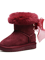 Baby Shoes Wedding / Outdoor / Dress / Casual Suede Boots / Fashion Sneakers Red / Burgundy / Champagne