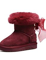 Baby Shoes - Matrimonio / Tempo libero / Formale / Casual - Stivali / Sneakers alla moda - Scamosciato - Rosso / Champagne / Borgogna