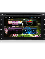 Android4.4.4 2Din Car DVD GPS Player with 6.2inch Capacitive Touch Screen with Wifi, Mirror Link, OBDII, built-in DVR
