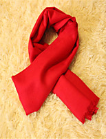 Pure Color Bright Red Male Ms. Qiu Dong Chinese Red Lucky  Red Scarf Every Year