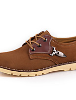 Men's Shoes Outdoor / Office & Career / Athletic / Casual Suede Oxfords Brown