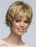 Top Quality Fashion Short Curly Wavy Wig Woman's Synthetic Wigs Hair