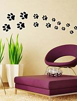 Wall Stickers Wall Decals Style New Little Feet PVC Wall Stickers