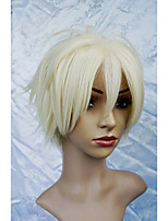LanTing Cos The Betrayal Knows My Name Renjoh Hotsuma Black Short Cosplay Wig Party Anime Hair