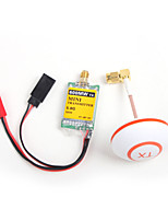 Mini 5.8G 600MW Transmitter TX 32CH White Antenna For DJI Phantom FPV Photography