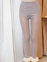 Women Solid Color Legging , Cotton Thick