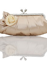 Women's Purse Fashion Korean Style Silk Flower Clutch Hot All-Match Bride Bag Wedding Party Bag