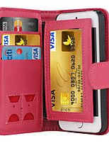 DE JI Magnetic 2 in 1 Luxury Leather Wallet Case Flip Cover+Cash Slot+Photo Frame Phone Case for iPhone 5/5S