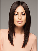 Medium Long Bob Straight Synthetic Wigs Hair Natural Color#1B Top Quality And New Arrival