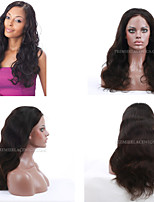 Premierwigs 8A 10''-24'' Natural Wave Soft Full Brazilian Virgin Lace Front Wigs Natural Hairline No Reason Return