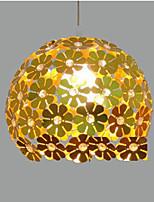 E27 18CM Line 1M Modern Color Restaurant Plum Flower Ball Single Head Crystal Droplight Of The Line LED 1PC