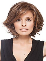 Natural Wave  Brown Curly Fashion Woman's Short Wig