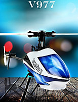 WLtoys V977 2.4GHz 6 Channel Flybarless Brushless RC Helicopter RTF 3D Fly With LCD  RC Ar. Drone Aircraft
