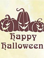 Halloween Fashion / Holiday Wall Stickers Plane Wall Stickers , PVC 75cm*61cm