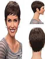 Bobo Wigs White Women European Synthetic Black Women Wigs Natural Color Short Wigs