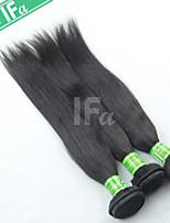 Indian Straight Hair Extension 3Pcs/Lot Virgin Human Indian Hair Weaving Color 1B