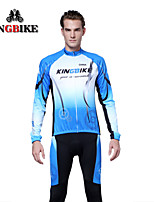 KingBike Winter Cycling Jersey Men Compression Tights Leggings Fitness Men Skinny Joggers Trousers Male Sports Plus Size