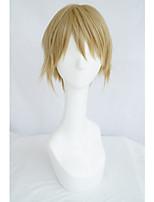 LanTing Cos K Totsuka Tatara Gold Short Cosplay Wig Party Anime Hair