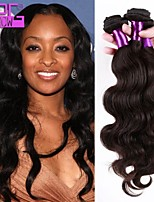onda corpo peruano tramas do cabelo virgem naturais 3pcs cor / lot tecer cabelo humano