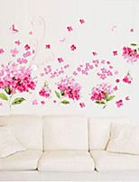 Botanical / Fashion Wall Stickers Plane Wall Stickers , PVC 90cm*90cm