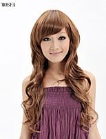 2015 donne Ombre parrucca moda capelli ondulati naturali calore janpanese resistente sintetico xy017 26