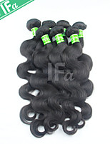 Indian Virgin Hair 5Pcs/Lot Body Wave Wholesale Human Hair Extensions Color 1B