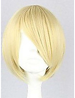 Anime COS Wig Han Edition Shave Blonde Wig