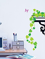 Botanical / Fashion Wall Stickers Plane Wall Stickers , PVC 45cm*60cm