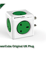Allocacoc PowerCube Original 5 Outlets Power Strip UK Plug Adapter