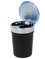 Universal Portable Cup Style LED Ashtray for Car Use(1 x CR2032)